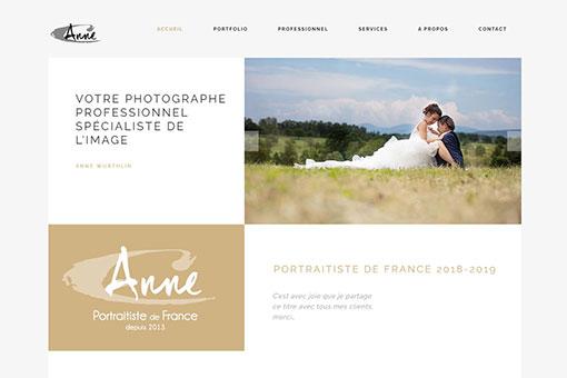 Anne Wurthlin site web