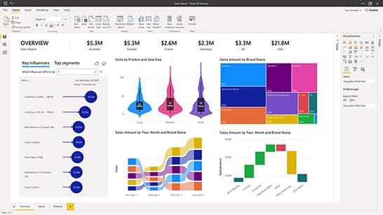Business Intelligence capture d'écran